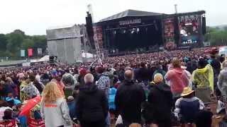 Billy Idol - White Wedding @ Download Festival 2015