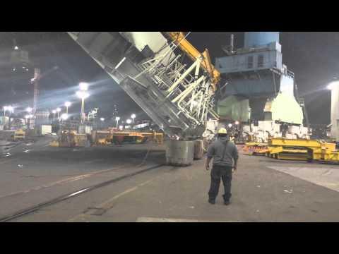 Crane operator got skills