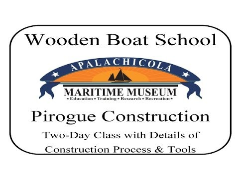 Construction of Pirogue two day class with details of the construction process and tools. [31201a]