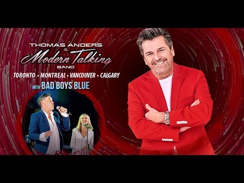 Thomas Anders 2019 Canada Tour With Bad Boys Blue - Promo 2