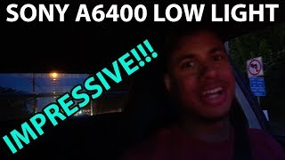 homepage tile video photo for Sony A6400 Low Light Test | Night Driving Subaru WRX STi w/ Tunnel Pull