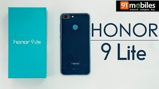 Honor 9 Lite: First Look   Hands on   Price   Hindi हिन्दी