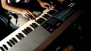 Soft-blues piano solo «Flight to the dream»