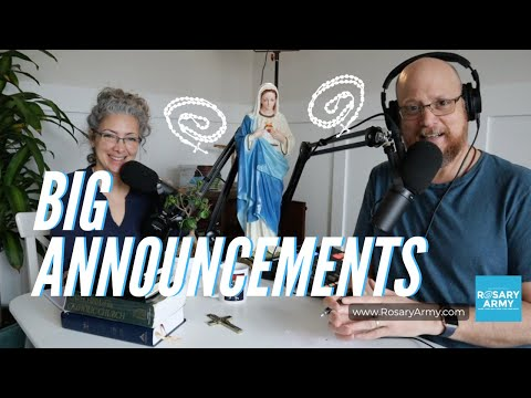 Rosary Army Announcements - Android App, Livestreams, And More!