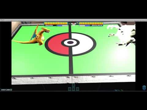 ARToolKit - Pokemon Turn Battle - Unity 5.5