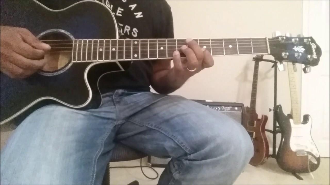 Bhailini Tihar Guitar Lesson Youtube