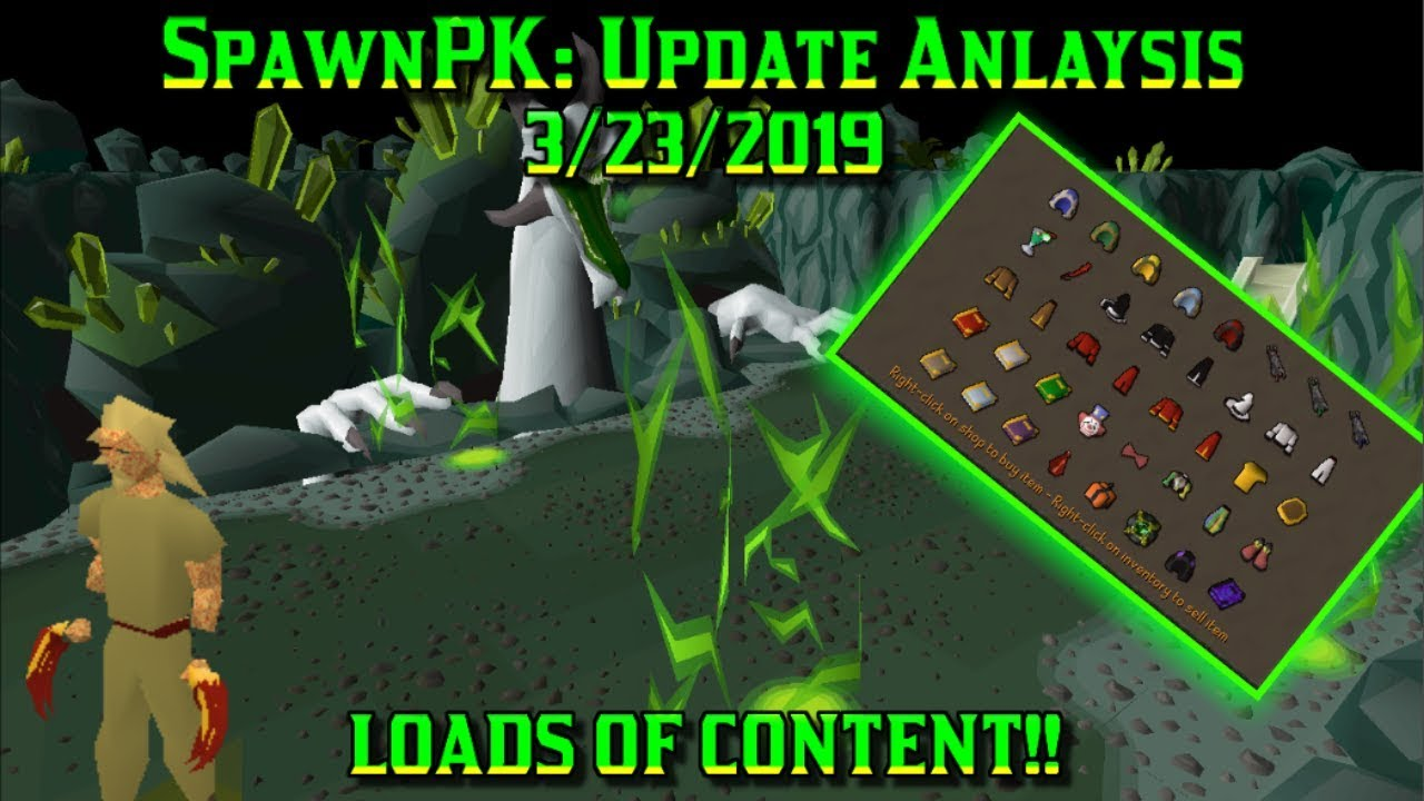 March 22nd, 2019] TONS of content! Raids, New items, QoLs