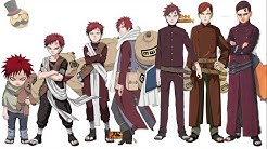 Naruto characters: Gaara's evolution