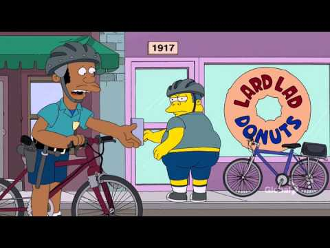 The simpsons police chief 39 s tight pants youtube - Police simpsons ...
