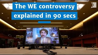 The WE Charity controversy explained in 90 seconds
