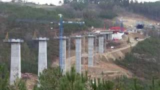 Incremental Launching Methodology Silleda Bridge