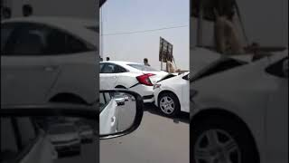 Another Corolla Accident in Pakistan Wedding | Toyota Corolla Accidents in Pakistan