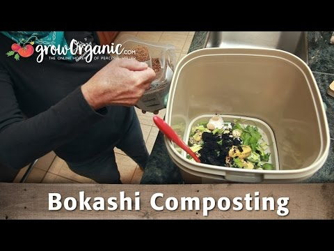 How to Compost in Small Spaces with Organic Bokashi Composting