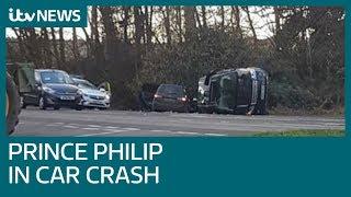 Duke of Edinburgh involved in car crash near Sandringham | ITV News