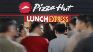 Lunch Express only at #PizzaHut!