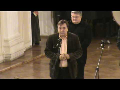 The Official Inauguration of the organ in Saint Petersburg Conservatory (2)