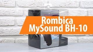 Распаковка Rombica MySound BH-10 / Unboxing Rombica MySound BH-10