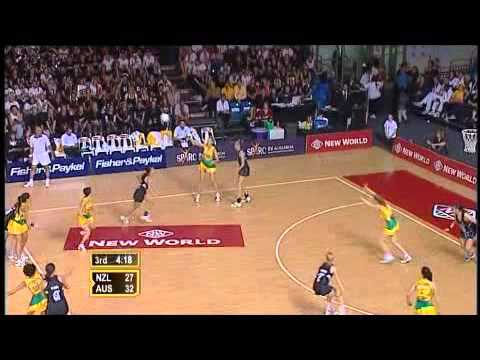 Netball: Diamonds v Silver Ferns WNC 2007 Final
