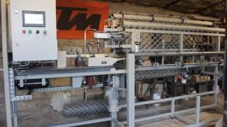 Automat do produkcji siatki ogrodzeniowej prezentacja 1