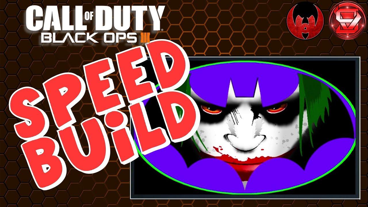 joker batman logo speed build black ops 3 emblem. Black Bedroom Furniture Sets. Home Design Ideas