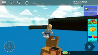 Building a boat with Tyler on Roblox.