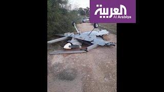 صور لصاروخ إيراني سقط شمال غرب مدينة أربيل العراقية ولم ينفجر
