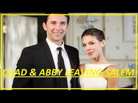 are chad and abigail leaving days of our lives