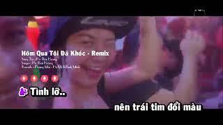Hôm qua tôi đã khóc ( karaoke demo) Hà Thái Hoàng