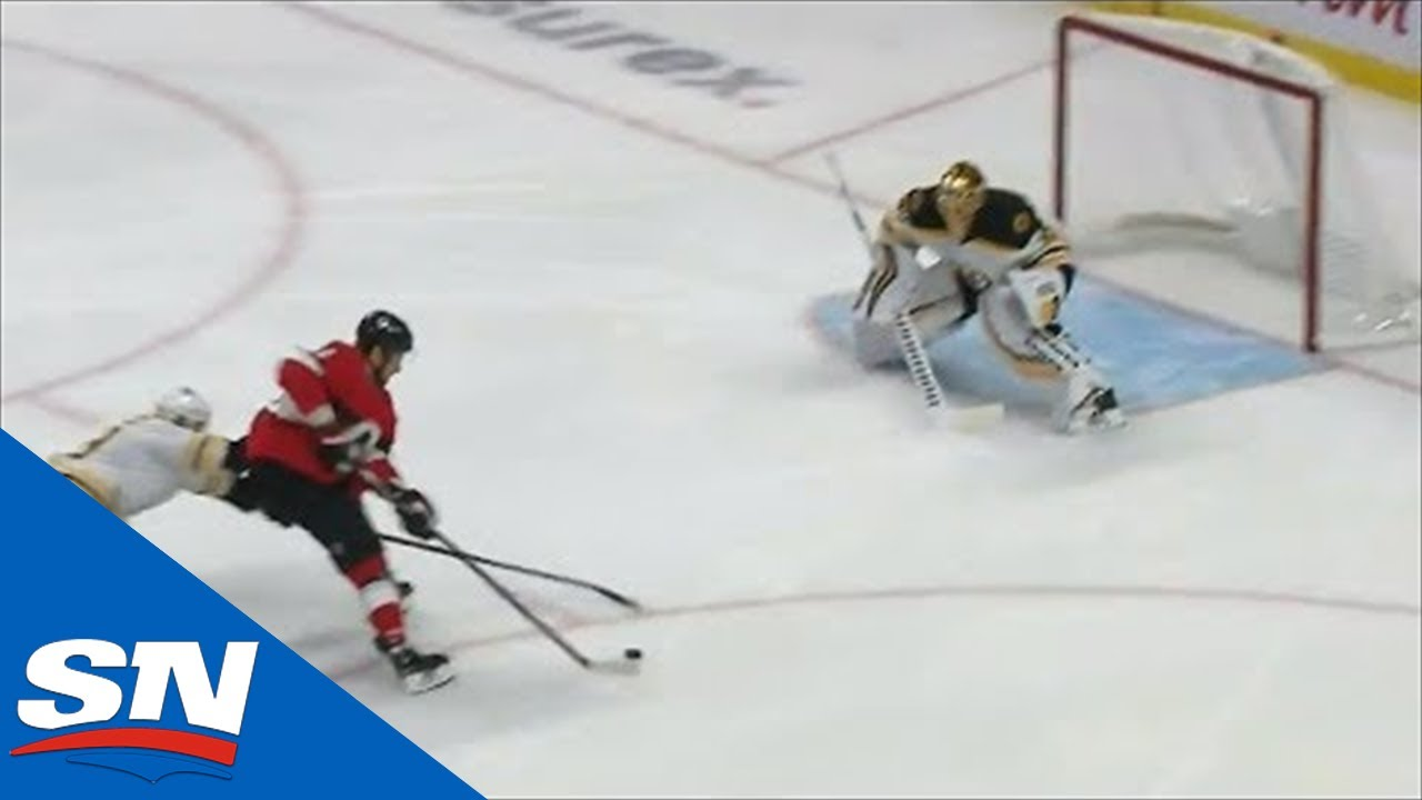 Dylan DeMelo Finds Streaking Artem Anisimov With Beautiful Pass To Opening Scoring