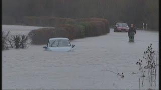 UK floods: the worst hit areas