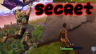 SECRET UNDERWATER HIDING SPOT (Fortnite Battle Royale)