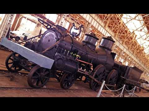 "The ""Texas"" steam locomotive restoration highlights"