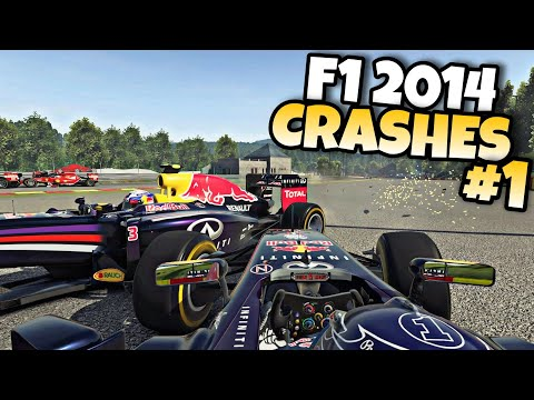 F1 2015 CRASHES #1 (2014 cars) |