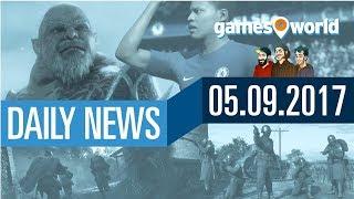 FIFA 18, Mittelerde, Battlefield 1 und Nintendo | Gamesworld Daily News - 05.09.2017
