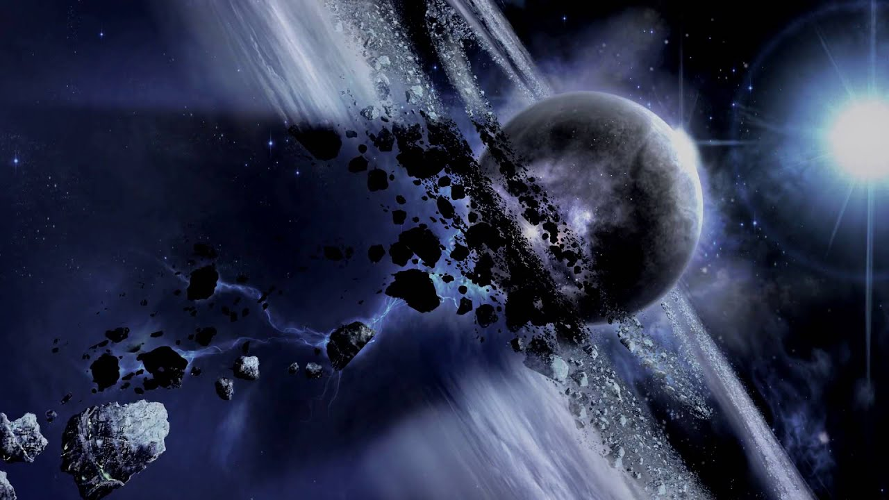 Feature Wall Wallpaper 3d F 777 Space Battle Youtube