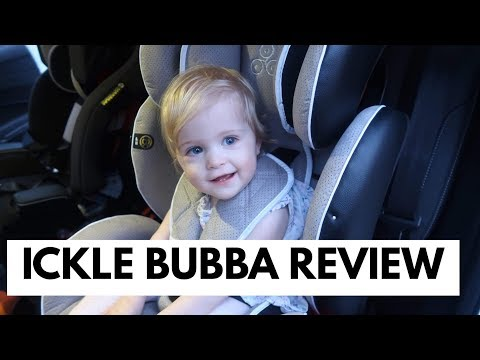 ICKLE BUBBA CAR SEAT REVIEW/ SOLAR GROUP 1-2-3 #AD