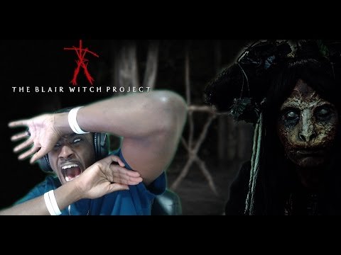 BONE-CHILLING | BLAIR WITCH 360 Web VR Experience Reaction