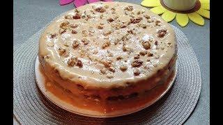 Торт из готовых коржей \ Cake from ready cake layers