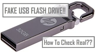Review Unboxing HP v250w Fake USB Flash Drive