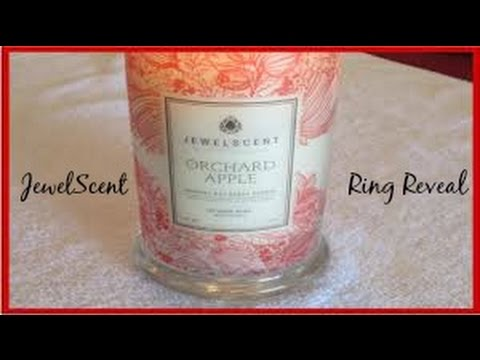 JewelScent Ring Reveal - Apple Orchard Candle!