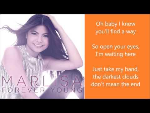Marlisa - Forever Young - Lyrics