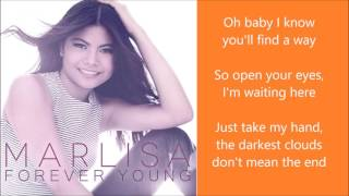 Marlisa's new single forever young with lyrics! watch the official lyrics video here: https://www./watch?v=esci0ydjwao about marlisa: marlisa ann ...