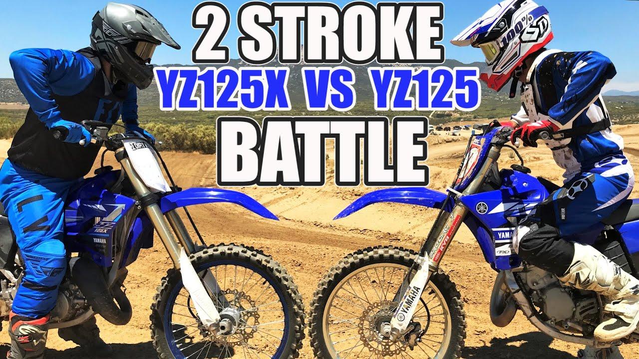 Yamaha YZ125X vs Yamaha YZ125 - 2 stroke MX battle