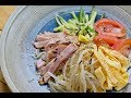 How to make Chilled ramen summer style  冷やし中華の作り方 の動画、YouTube動画。