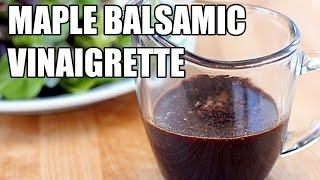 Tony Rican's Maple Balsamic Vinaigrette #kitchenquikie