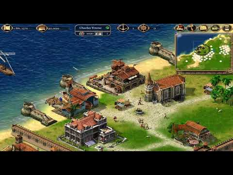 Clear Gameplay of Port Royale (Gold, Power and Cannons - Pirates) Pt. 1 |