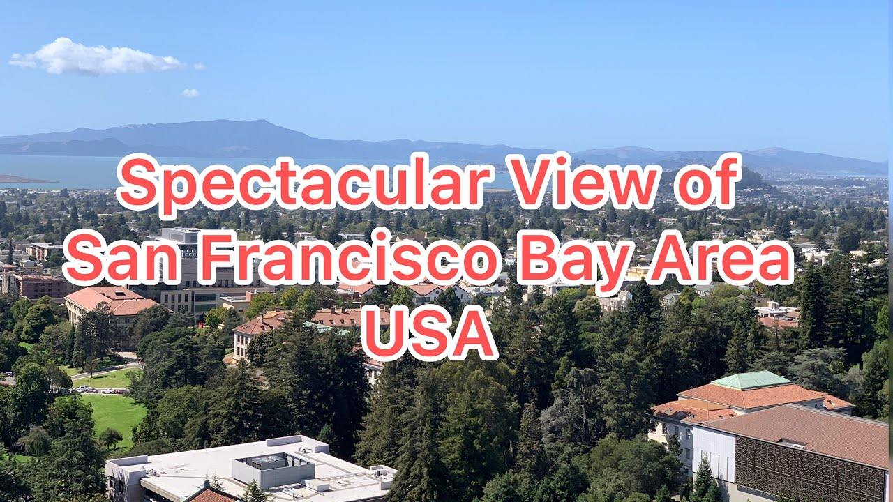 View from the University of California (UC), Berkeley Campanile (Sather Tower)