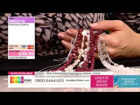 How to Make Boutique-Style Beaded Jewellery: JewelleryMaker LIVE 26/11/2014