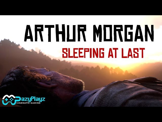 ARTHUR MORGAN // Sleeping At Last // RED DEAD REDEMPTION 2 // Mary Linton // Tribute [4K]