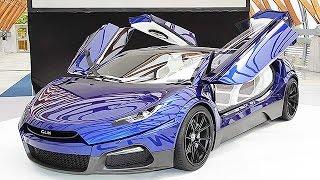 スポーツタイプの電気自動車(EV)を開発するベンチャー企業、GLM...
